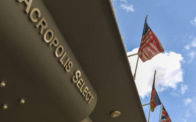Отель Acropolis Select Hotel Греция, Афины - 3 отзыва об отеле, цены и фото номеров - забронировать отель Acropolis Select Hotel онлайн вид на фасад