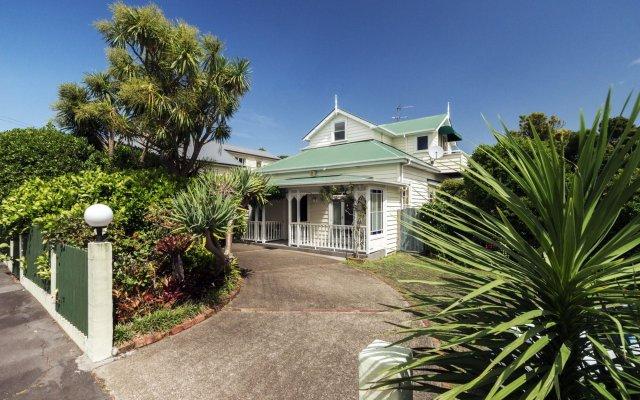 Отель The Great Ponsonby ArtHotel Новая Зеландия, Окленд - отзывы, цены и фото номеров - забронировать отель The Great Ponsonby ArtHotel онлайн вид на фасад