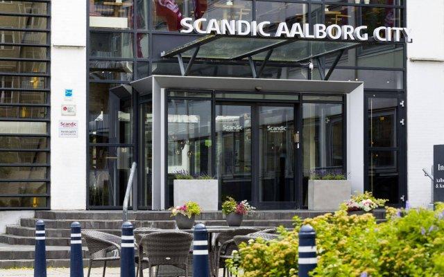 Отель Scandic Aalborg City Дания, Алборг - отзывы, цены и фото номеров - забронировать отель Scandic Aalborg City онлайн вид на фасад