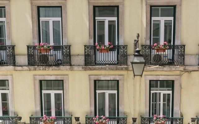 Отель Residencial Florescente вид на фасад