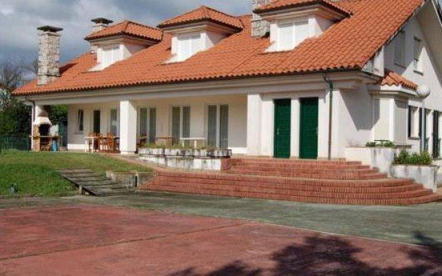 Отель Hosteria El Laurel вид на фасад