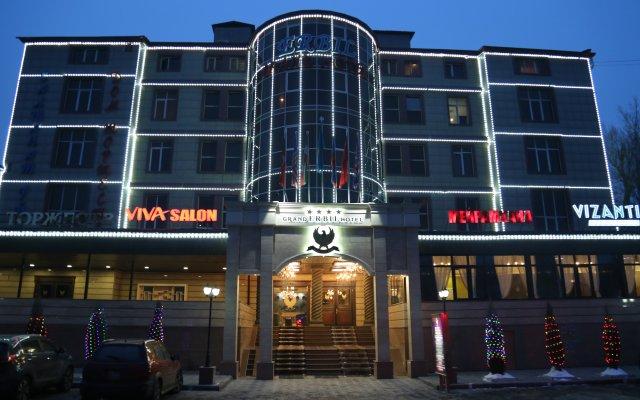 Отель Grand Erbil Алматы вид на фасад