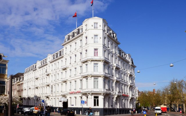 Отель Leonardo Boutique Museumhotel Нидерланды, Амстердам - отзывы, цены и фото номеров - забронировать отель Leonardo Boutique Museumhotel онлайн вид на фасад