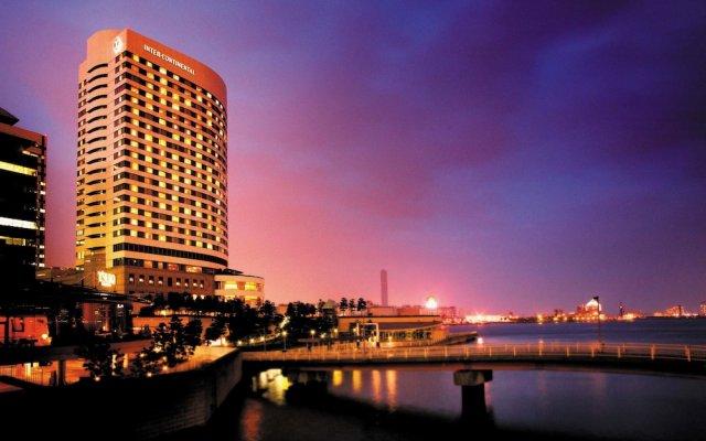 Отель Intercontinental Tokyo Bay Токио вид на фасад