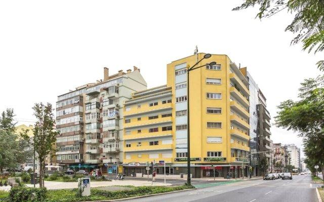 Апартаменты Sweet Inn Apartments - Saldanha Лиссабон вид на фасад