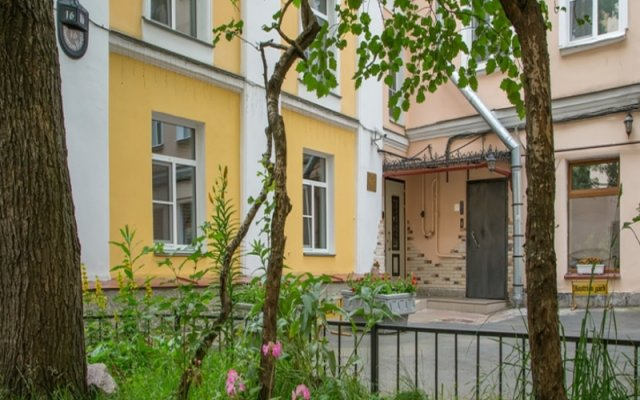 Гостиница Меблированные комнаты комфорт Австрийский Дворик вид на фасад