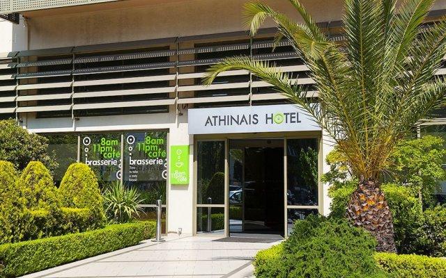 Athinais Hotel вид на фасад