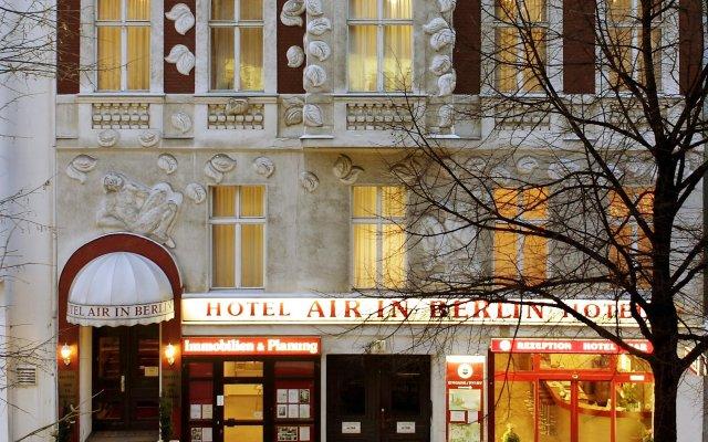 Отель Air in Berlin Германия, Берлин - 2 отзыва об отеле, цены и фото номеров - забронировать отель Air in Berlin онлайн вид на фасад