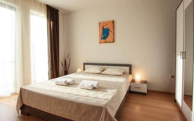 Отель New Line Village Apartments Болгария, Свети Влас - отзывы, цены и фото номеров - забронировать отель New Line Village Apartments онлайн вид на фасад