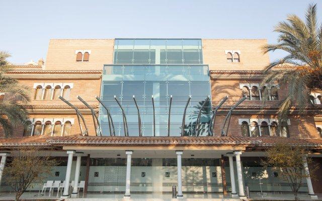 Hotel Granada Palace вид на фасад