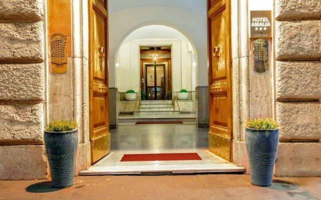 Amalia Vaticano Hotel вид на фасад