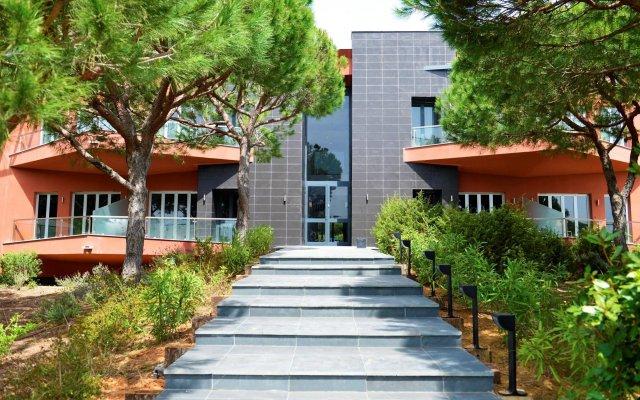 Отель Praia Verde - O Paraiso na Terra вид на фасад
