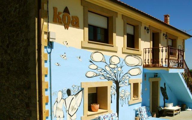 Отель Koa House - Koa Escuela de Surf Испания, Рибамонтан-аль-Мар - отзывы, цены и фото номеров - забронировать отель Koa House - Koa Escuela de Surf онлайн вид на фасад
