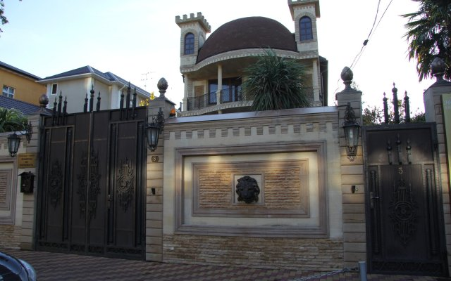 Гостиница Касабланка вид на фасад