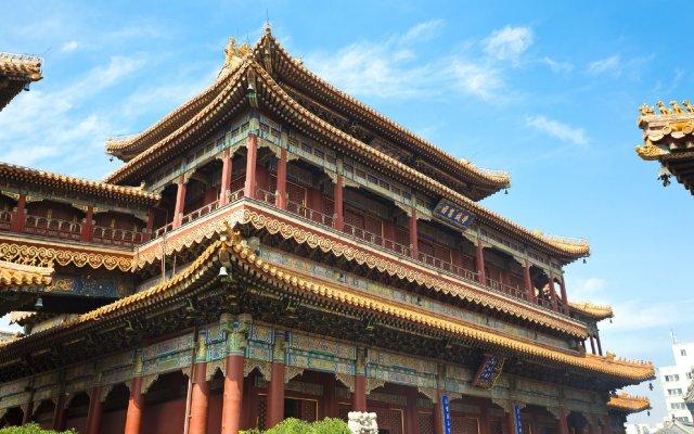 Отель North Star Yayuncun Hotel Китай, Пекин - отзывы, цены и фото номеров - забронировать отель North Star Yayuncun Hotel онлайн вид на фасад