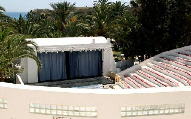 Отель Mediterranee Thalasso-Golf Хаммамет вид на фасад