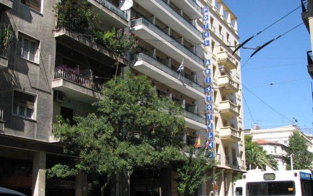 Отель Aristoteles Греция, Афины - 10 отзывов об отеле, цены и фото номеров - забронировать отель Aristoteles онлайн вид на фасад