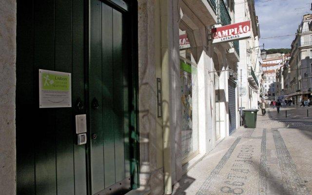 Отель Lisbon Serviced Apartments - Baixa Chiado Португалия, Лиссабон - 1 отзыв об отеле, цены и фото номеров - забронировать отель Lisbon Serviced Apartments - Baixa Chiado онлайн вид на фасад