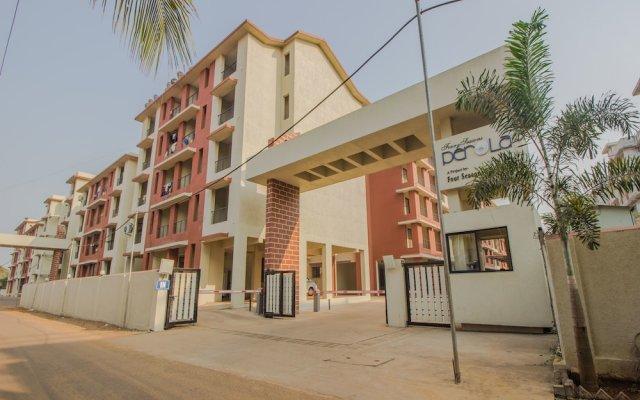 Отель OYO 11430 Home Green View 2BHK Old Goa Гоа вид на фасад