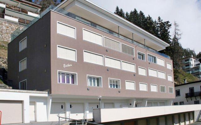 Отель Esther вид на фасад