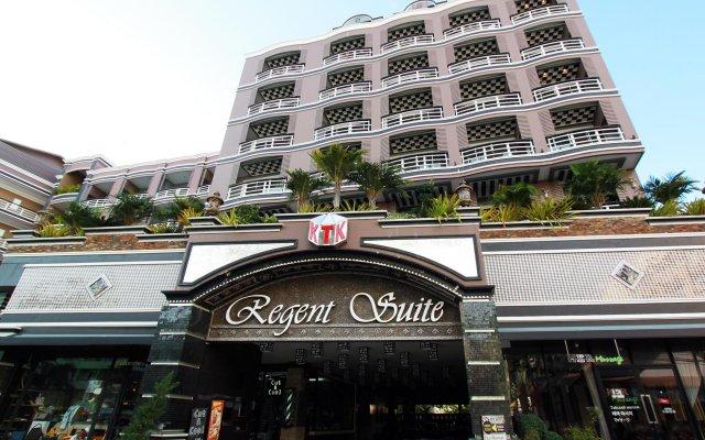 Отель Ktk Regent Suite Паттайя вид на фасад