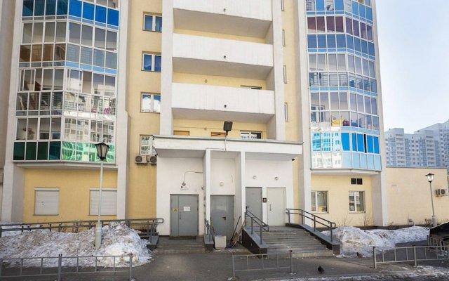 Апартаменты «Этажи Библиотечная-Комсомольская» Екатеринбург вид на фасад