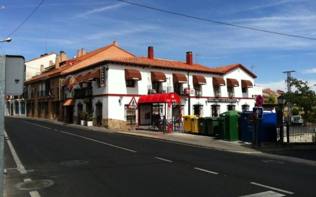 Отель Hostal Paracuellos вид на фасад
