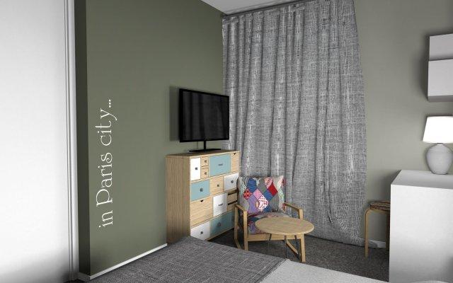 InnCity Hotel by Picnic комната для гостей