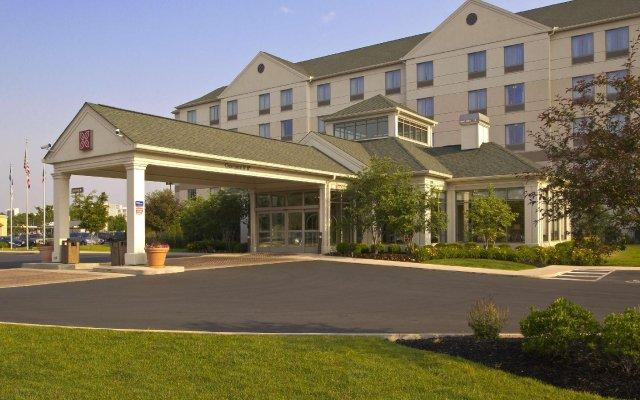 Отель Hilton Garden Inn Columbus-University Area США, Колумбус - отзывы, цены и фото номеров - забронировать отель Hilton Garden Inn Columbus-University Area онлайн вид на фасад