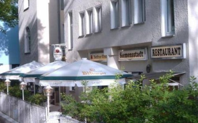 Hotel Siemensstadt вид на фасад
