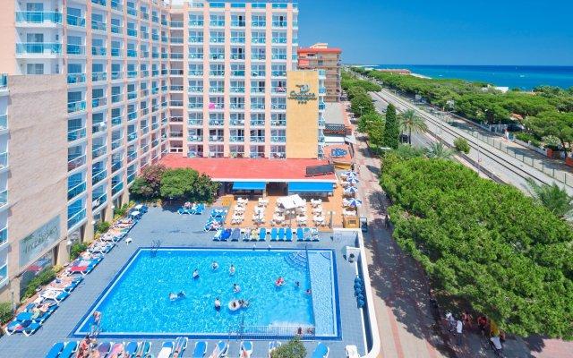 Отель H·TOP Cartago Nova вид на фасад