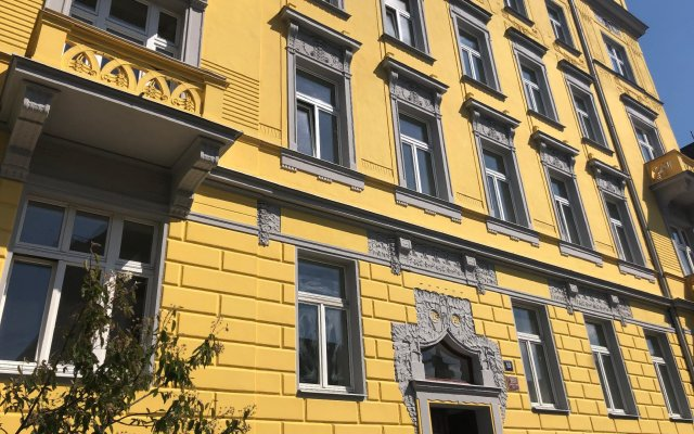 Отель Letna Garden Suites Чехия, Прага - отзывы, цены и фото номеров - забронировать отель Letna Garden Suites онлайн вид на фасад
