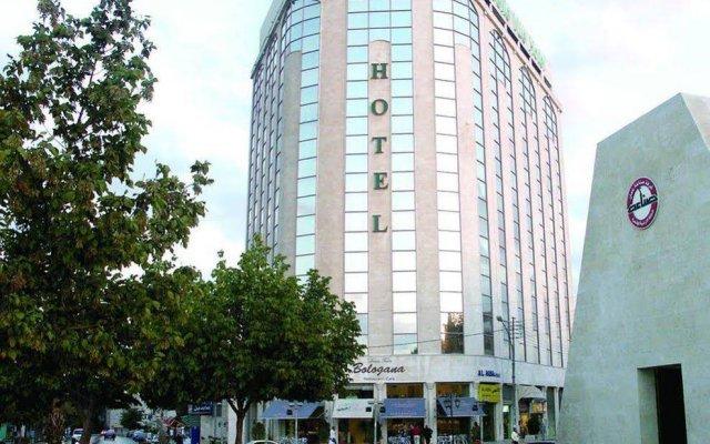 Belle Vue Hotel вид на фасад