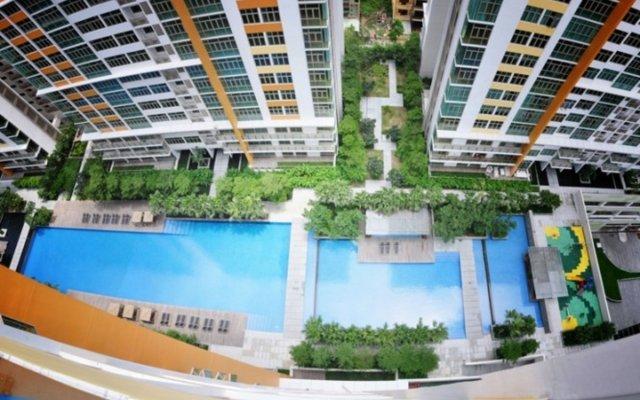 Отель Somerset Vista Ho Chi Minh City вид на фасад