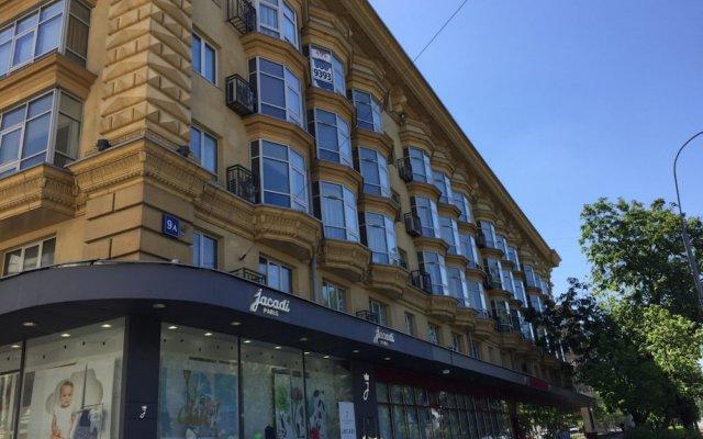 Гостиница Moskva4you Komsomolskiy Prospekt 9 вид на фасад