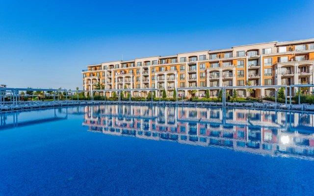 Отель Апарт-Отель Premier Fort Beach Болгария, Свети Влас - отзывы, цены и фото номеров - забронировать отель Апарт-Отель Premier Fort Beach онлайн вид на фасад