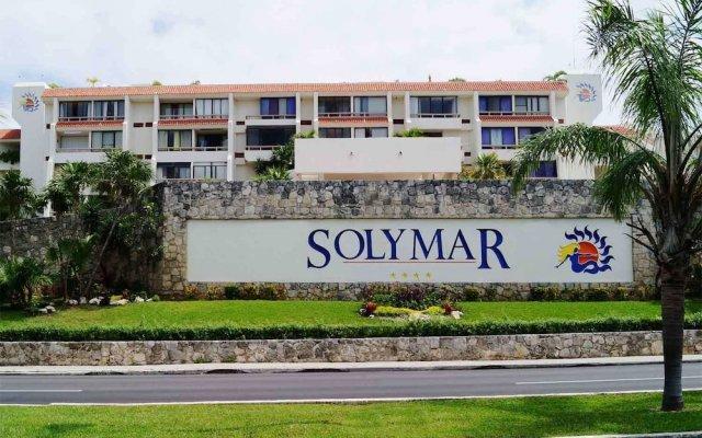 Апартаменты Apartment Solymar Cancun Beach парковка