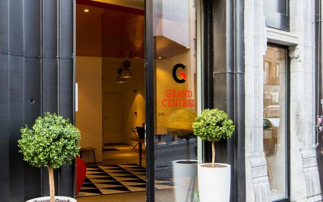 Отель Grand Central Apartments Бельгия, Брюссель - отзывы, цены и фото номеров - забронировать отель Grand Central Apartments онлайн вид на фасад