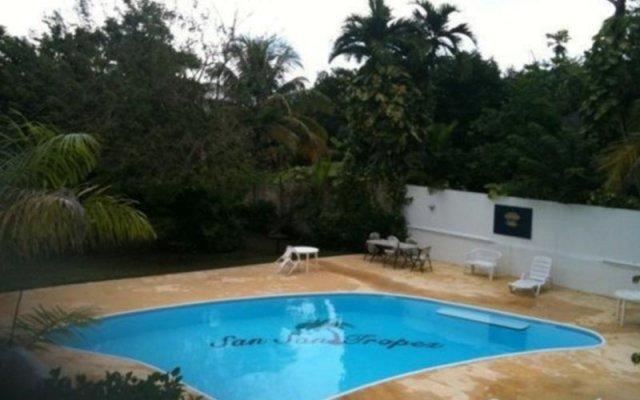 Отель San San Tropez Ямайка, Порт Антонио - отзывы, цены и фото номеров - забронировать отель San San Tropez онлайн с домашними животными