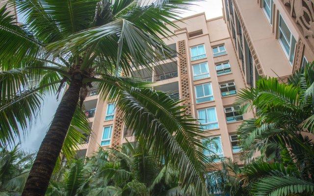 Отель Atlantis Condo вид на фасад