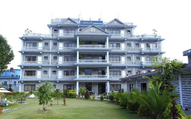 Отель Crown Himalayas Непал, Покхара - отзывы, цены и фото номеров - забронировать отель Crown Himalayas онлайн вид на фасад