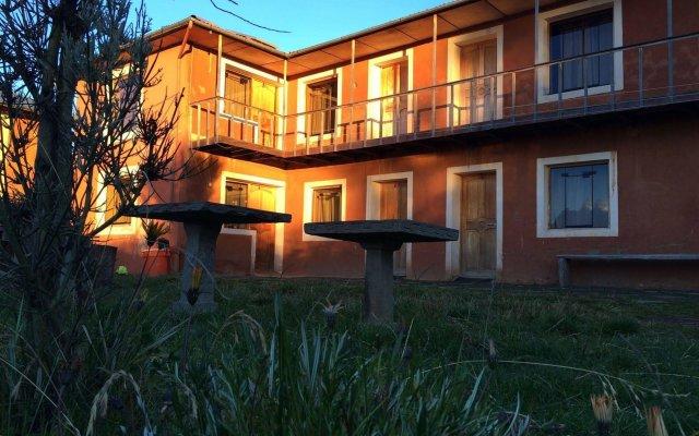 Отель Titicaca Lodge вид на фасад