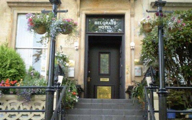 Belgrave Glasgow Hotel Глазго вид на фасад