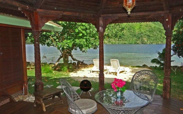 Отель Robinson's Cove Villas - Deluxe Wallis Villa Французская Полинезия, Муреа - отзывы, цены и фото номеров - забронировать отель Robinson's Cove Villas - Deluxe Wallis Villa онлайн вид на фасад
