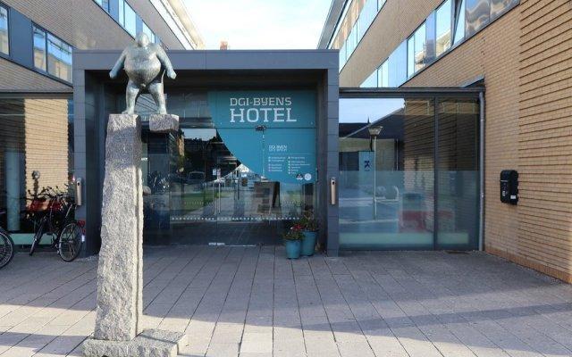 Отель Dgi Byen Копенгаген вид на фасад