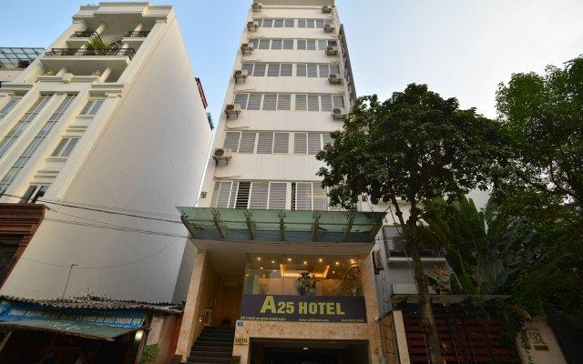 A25 Hotel Dich Vong Hau Ханой вид на фасад