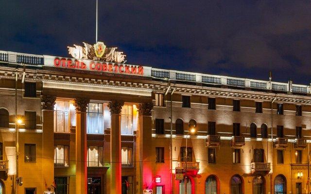 Легендарный Отель Советский вид на фасад