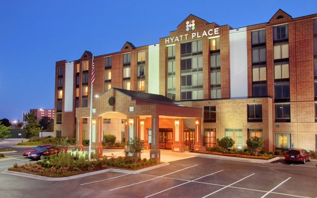 Отель Hyatt Place Minneapolis Airport-South США, Блумингтон - отзывы, цены и фото номеров - забронировать отель Hyatt Place Minneapolis Airport-South онлайн вид на фасад