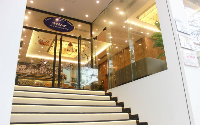 Отель SinhPlaza вид на фасад