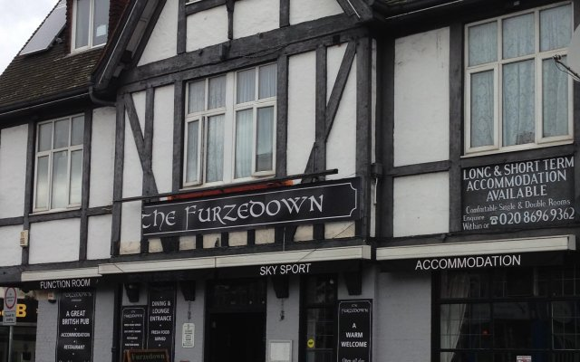 Отель The Furzedown вид на фасад